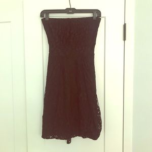 American Rag black lace minidress